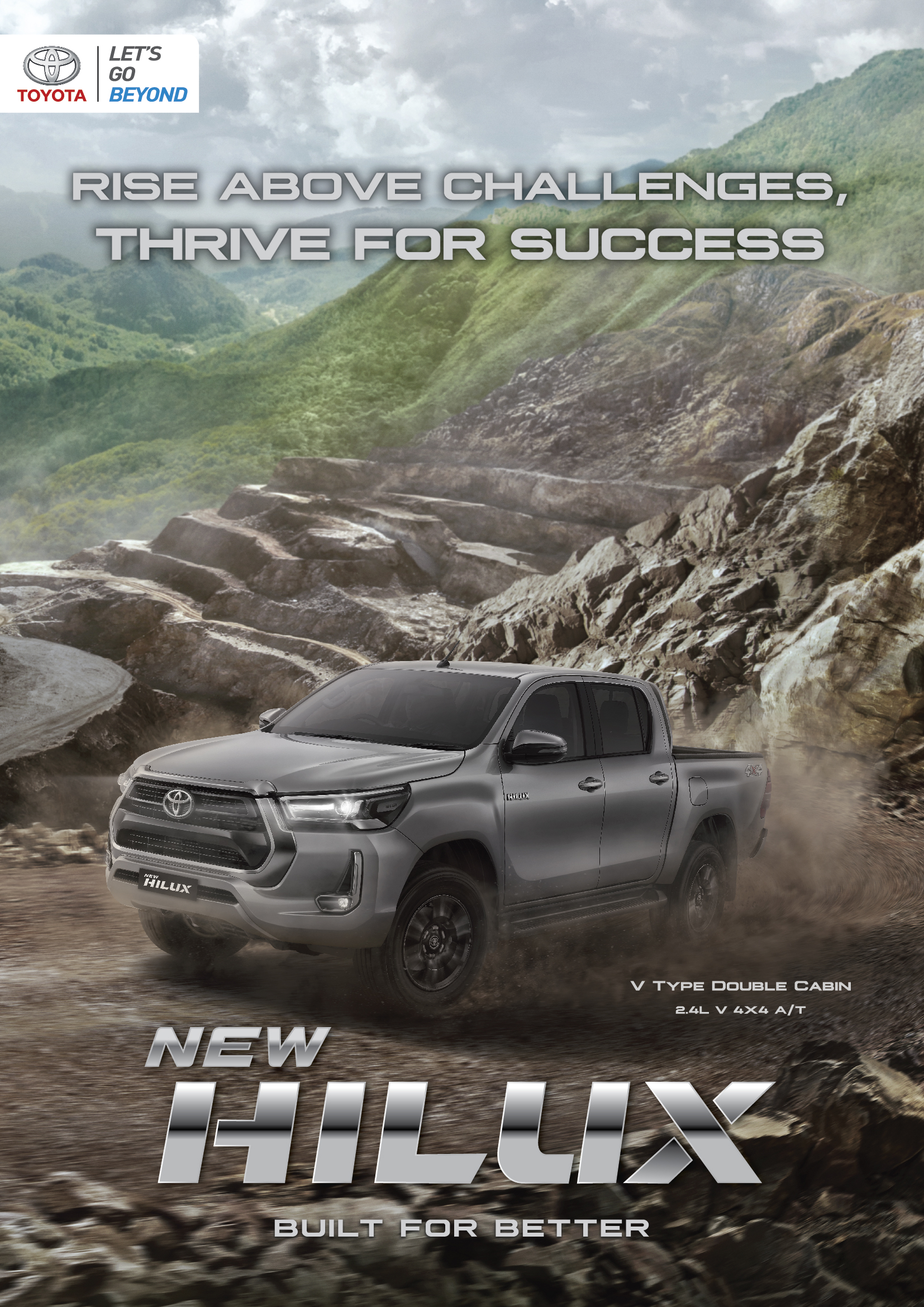 All new Toyota Hilux